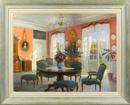 Interior oil paintings for sale
