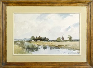EDWARD WESSON Near Martham Broad, West Somerton, Norfolk
