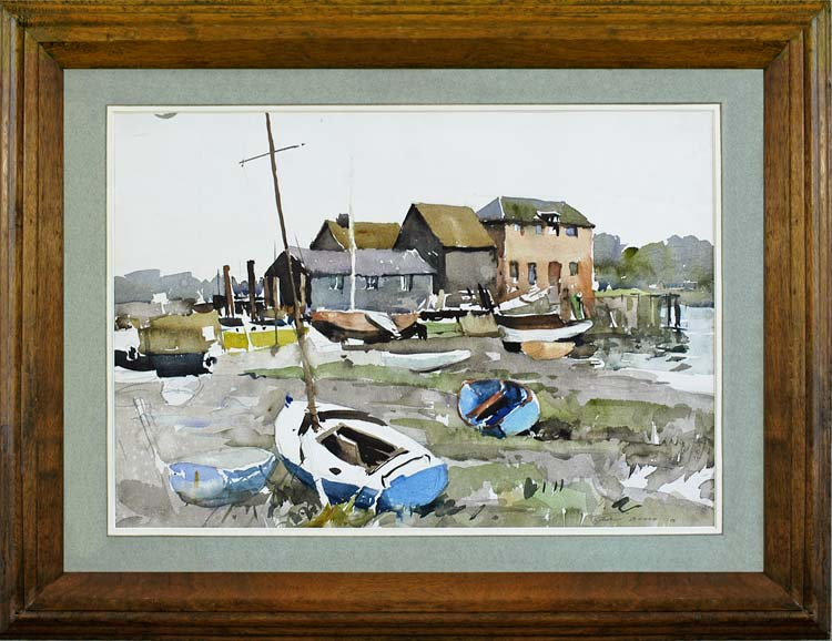 EDWARD WESSON Dell Quay near Chichester