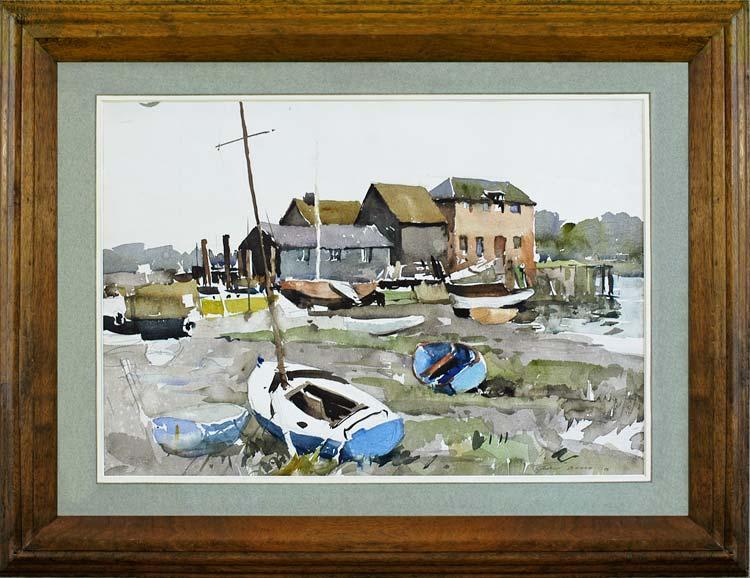 EDWARD WESSON Dell Quay near Chichester