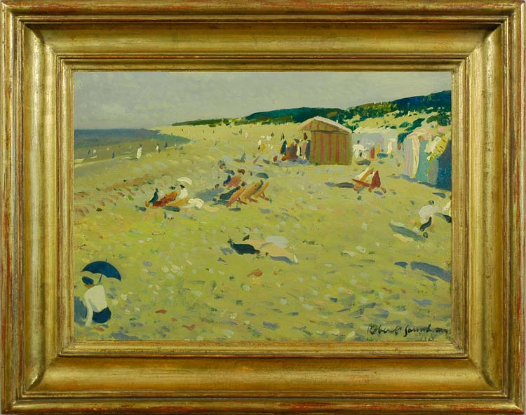 ROBERT DUCKWORTH GREENHAM Sandy beach