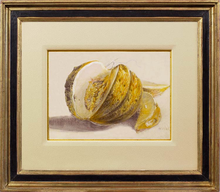 WILLIAM HENRY HUNT A cut melon
