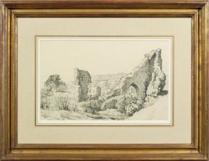 nicholls bertram castle ruins