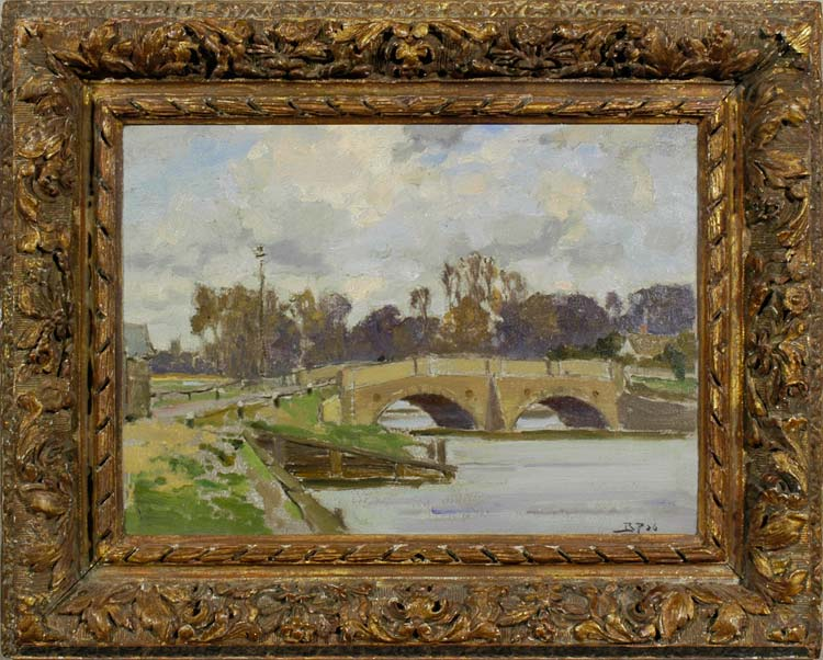BERTRAM WALTER PRIESTMAN Malin Bridge, 1926