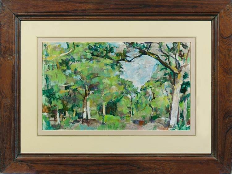 GEORGE WEISSBORT Forest clearing, Vienna