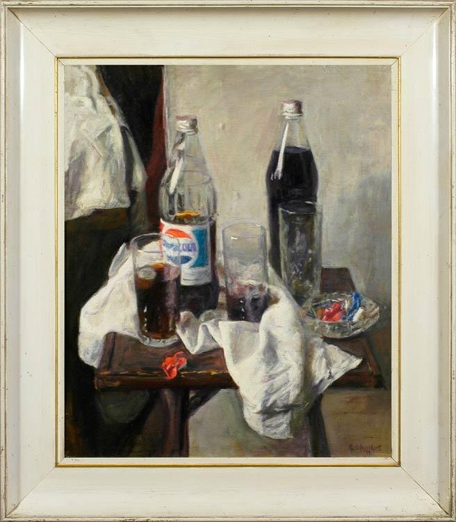 George Weissbort, In the studio: a break for Pepsi