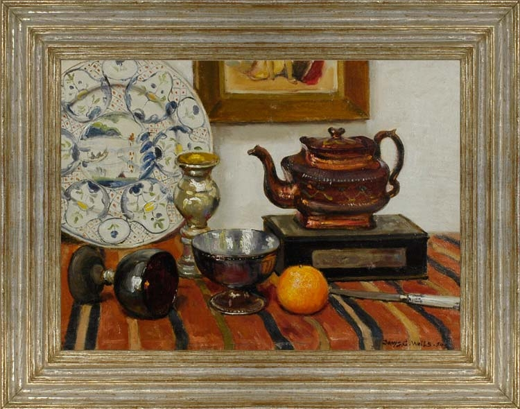 Denys George Wells 1881 1973 Still Life With Teapot