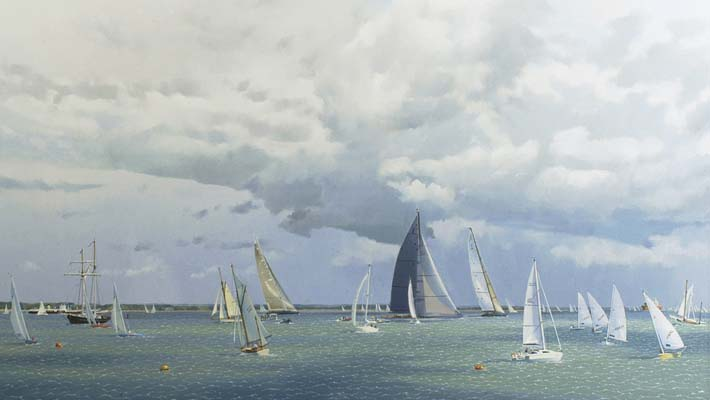 SWAN, Martin - The Hundred Guinea Cup, Cowes