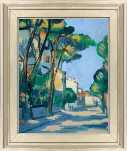 FLANAGAN,-TOM---A-street-scene-in-France
