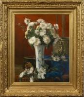 FONTAINE,-Victor---Gueridon-fleuri