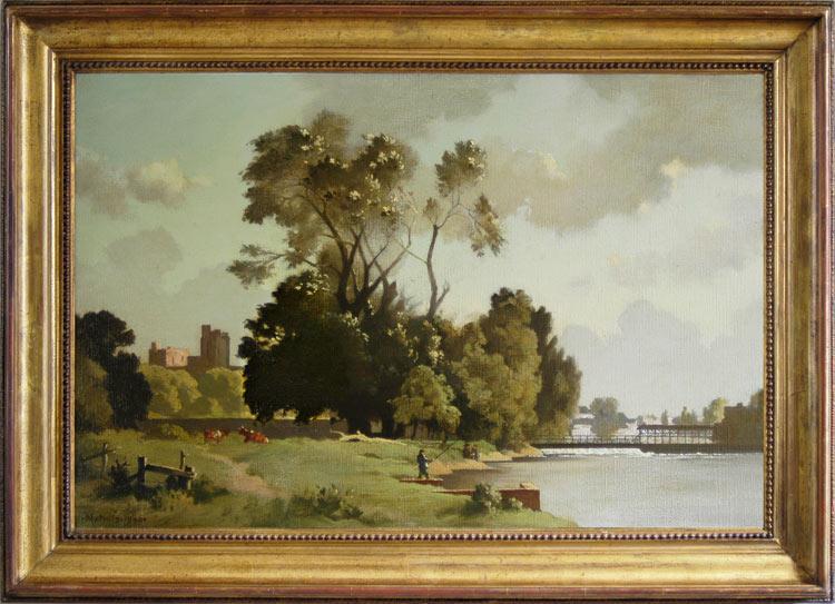 Bertram Nicholls, The weir at Windsor
