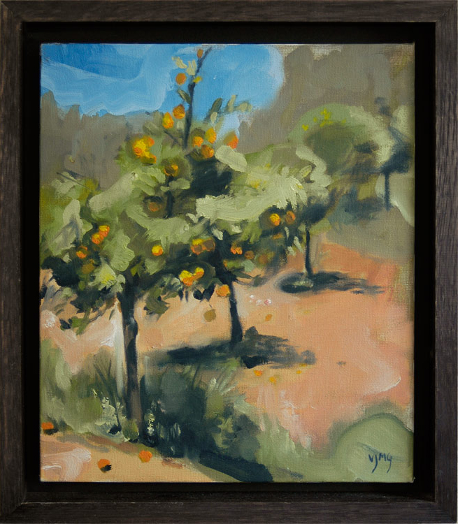Orange trees, Vanessa Garwood