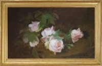 James-Stuart-Park,-A-Still-LIfe-of-Pink-Roses